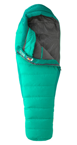 Marmot Astrium Sleeping Bag Regular Women Gem Green/Green Garnet